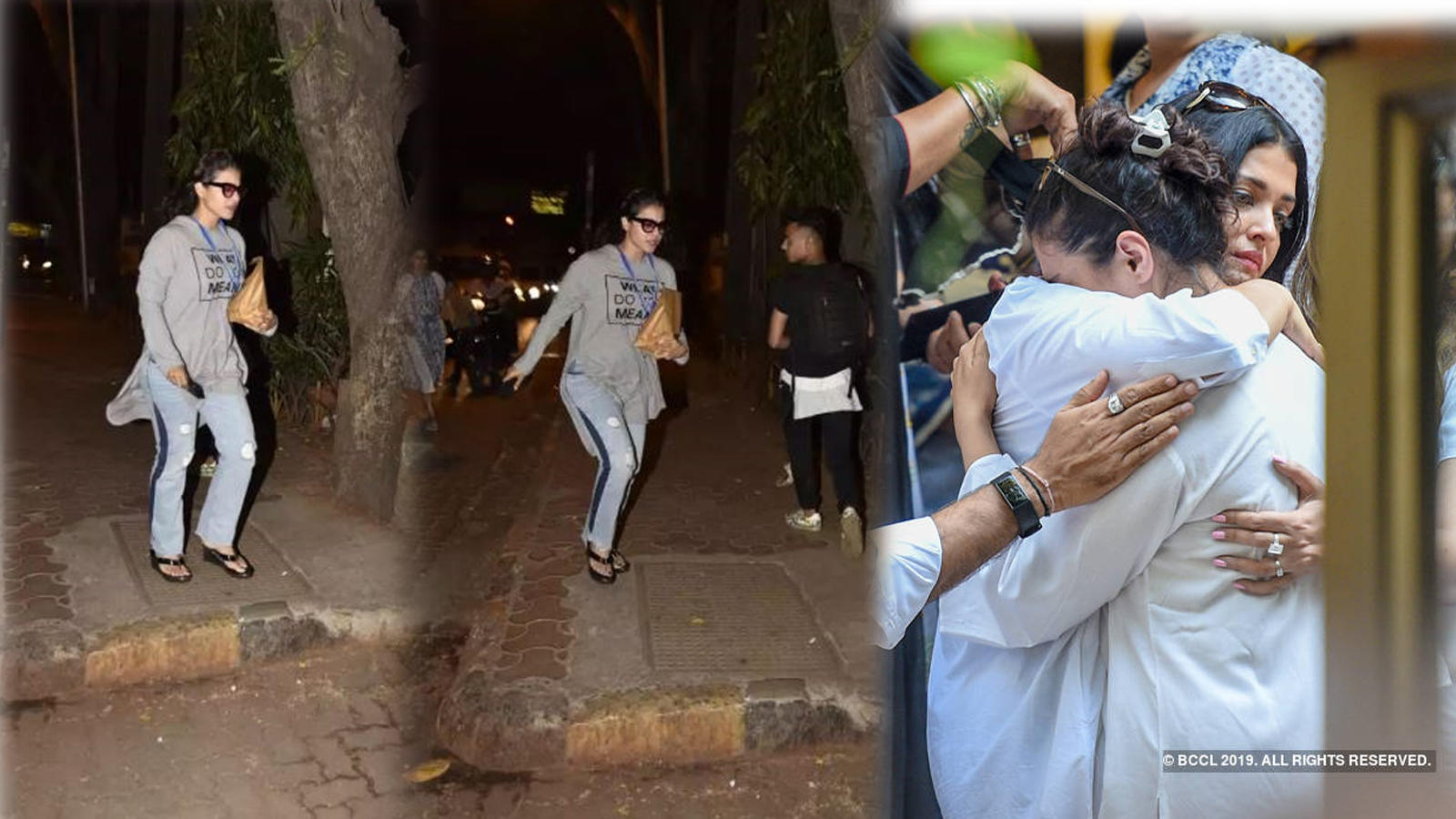 Kajol rushes to hospital few days after father-in-law Veeru Devgan's  demise, leaves fans worried