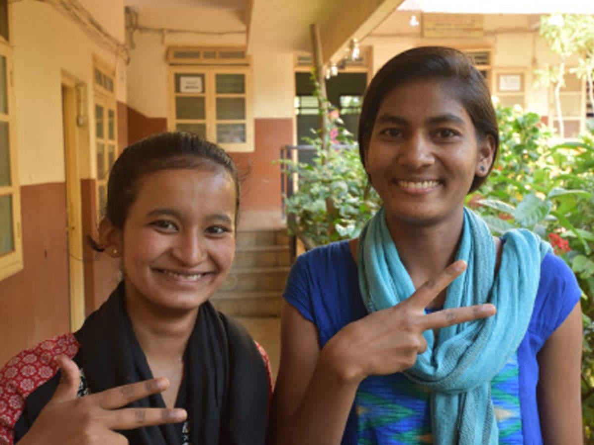 Two girls from Bal Kalyan Sankul score despite odds | Kolhapur News