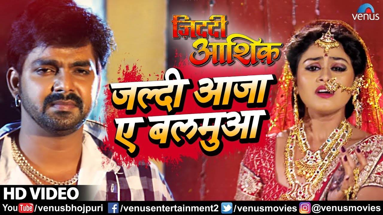 Pawan Singh Ka Jabardasth Gana: Latest Bhojpuri Song 'Jaldi Aaja A Balamua'  from Bhojpuri Movie 'Ziddi Aashiq'