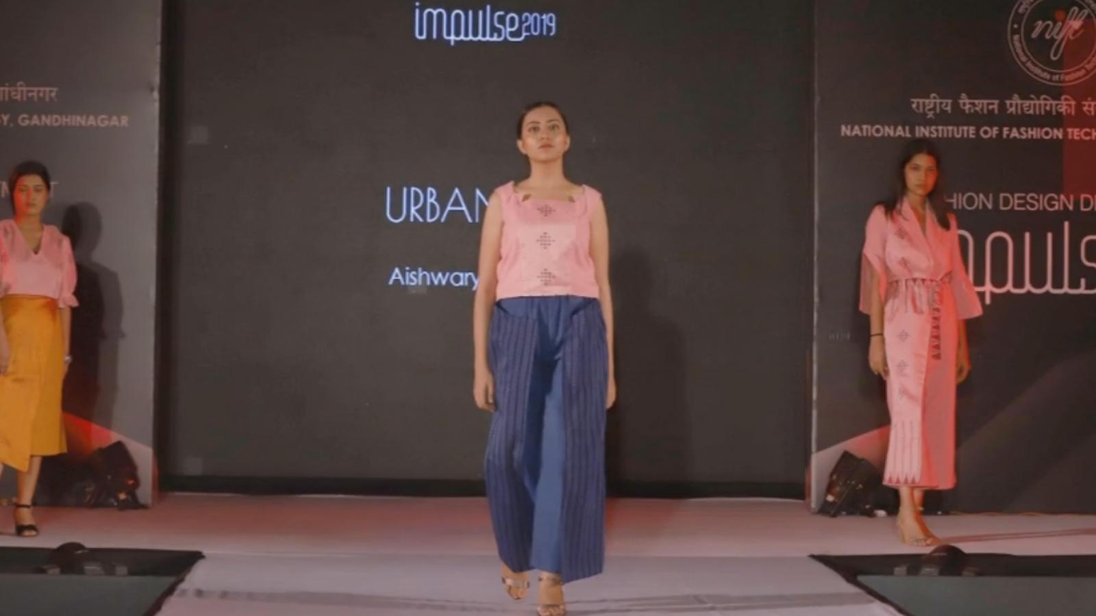 A Fashion Show At Nift Gandhinagar Entertainment Times Of India Videos