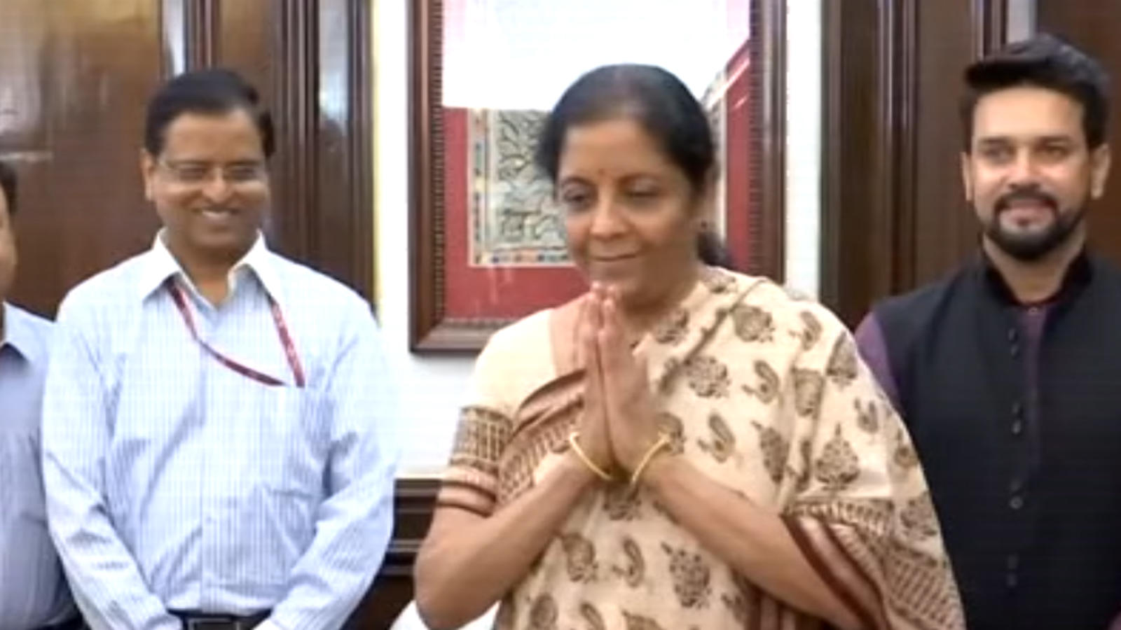 Amit Shah at home, Nirmala Sitharaman breaks another glass ceiling as FM