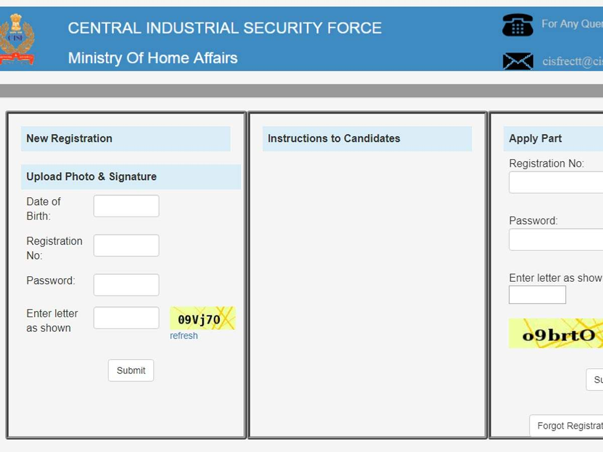 CISF Head Constable Admit Card 2019 released @ cisfrectt in