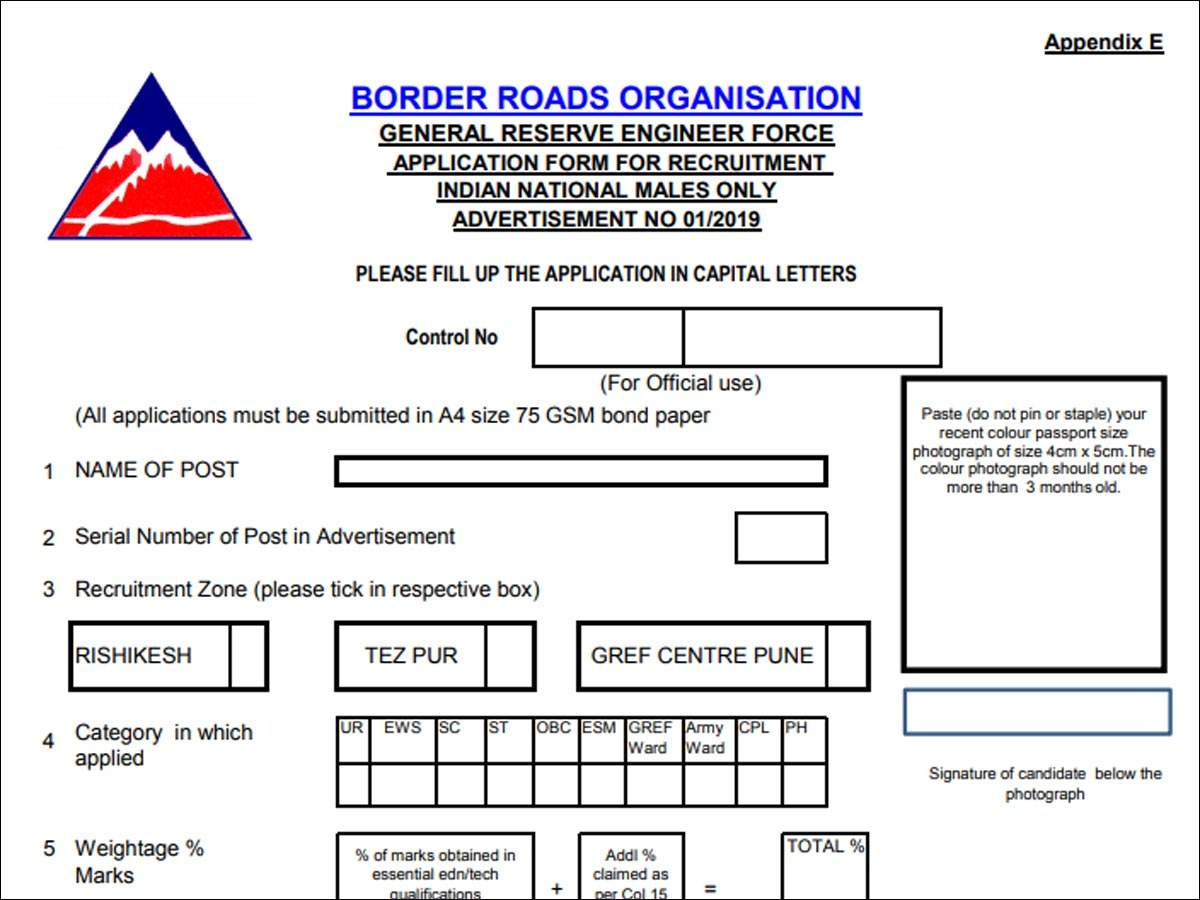BRO Recruitment 2019: Apply offline for 778 Driver