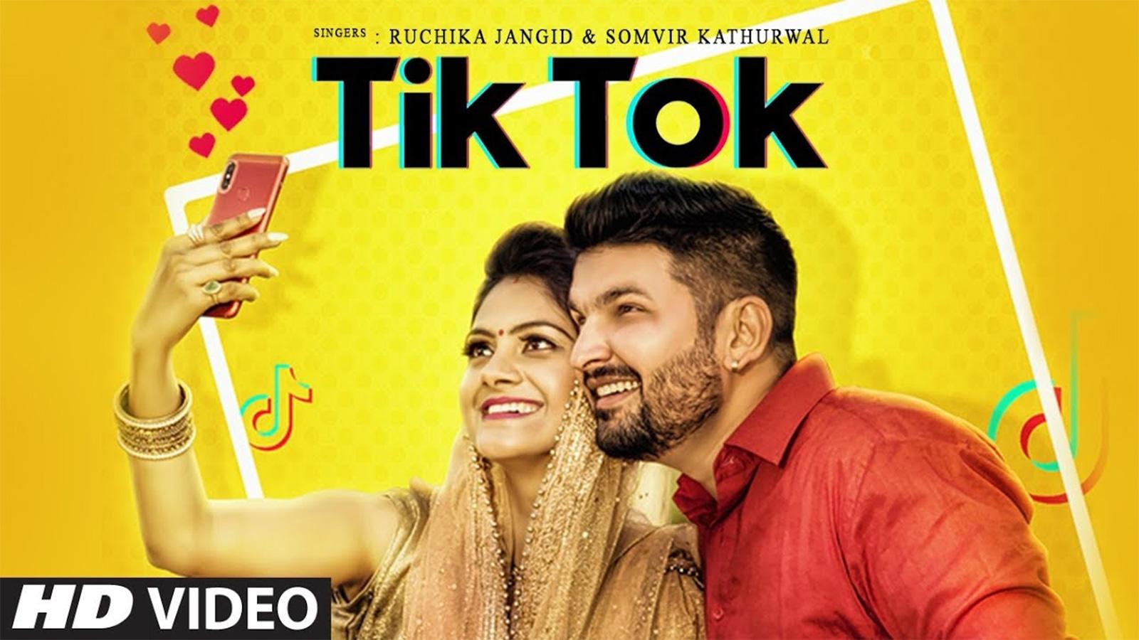 Latest Haryanvi Song 'Tik Tok' Sung By Somvir Kathurwal And Ruchika Jangid  | Haryanvi Video Songs - Times of India