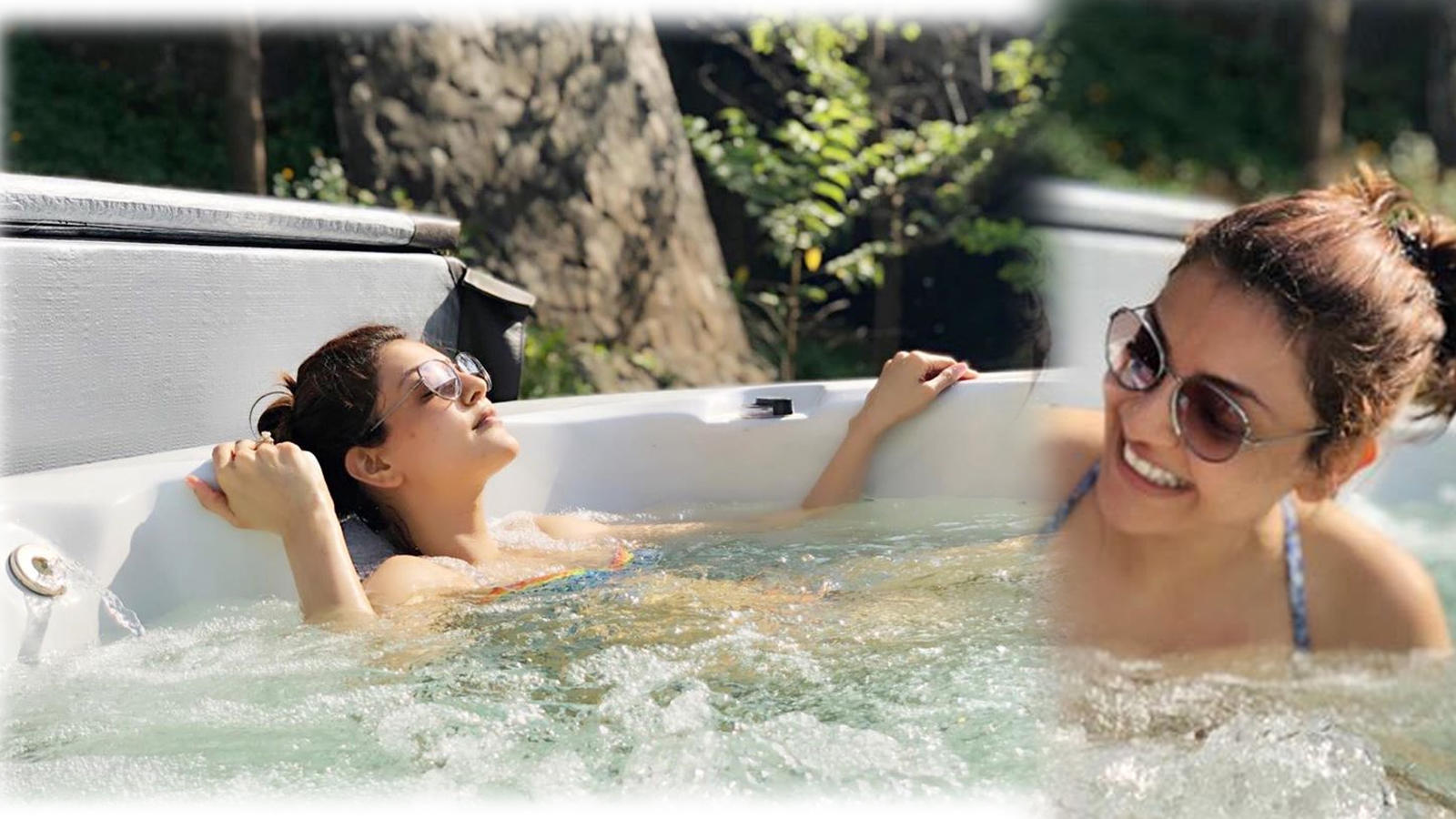 Kajal Aggarwal sets temperatures soaring with these pool pictures