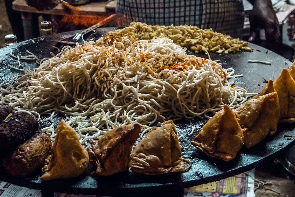 How about Maggi Samosa at Kill No Kalorie in Thane?