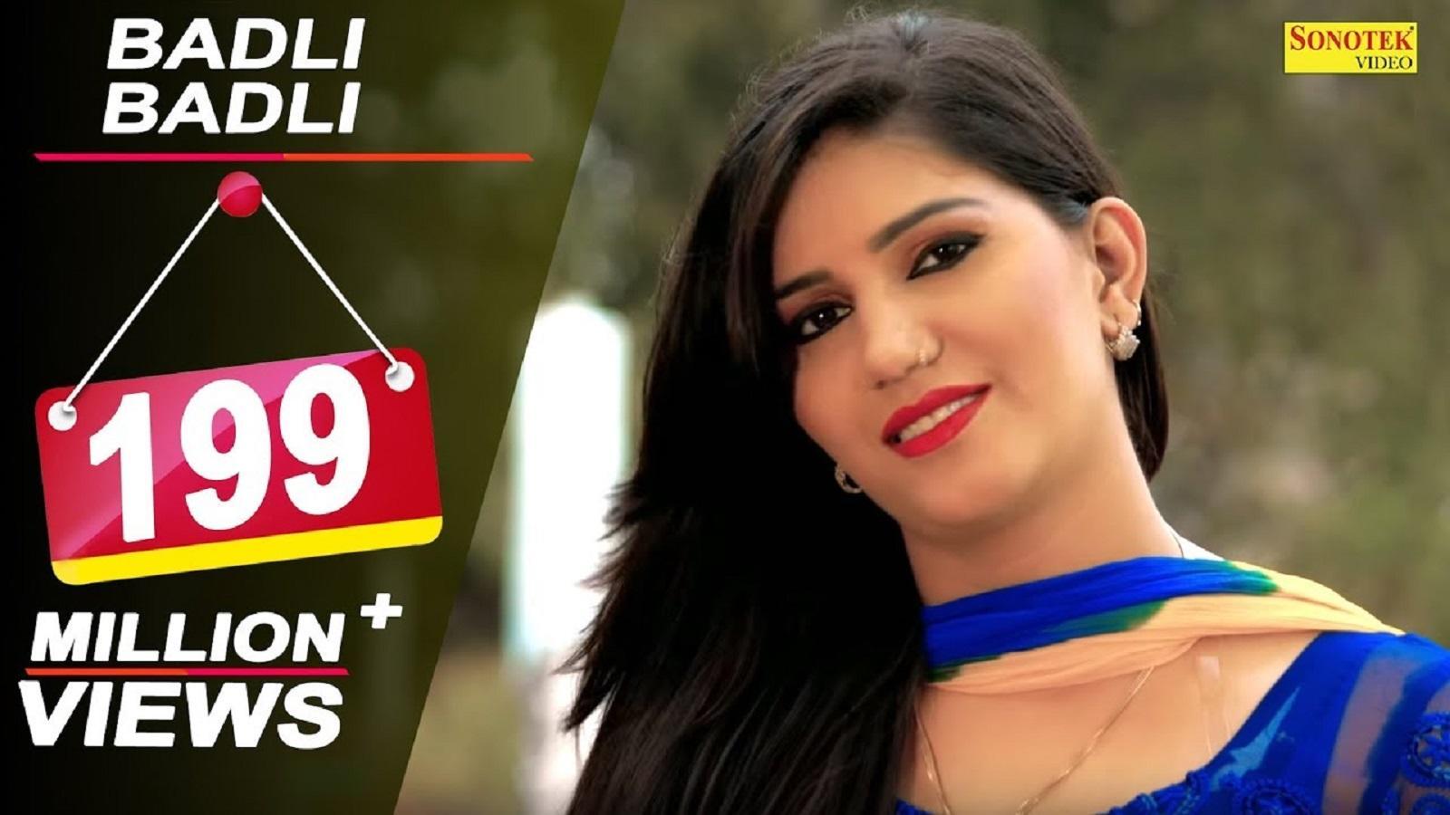 Watch: Sapna Choudhary and Vickky Kajla's hit Haryanvi song 'Badli Badli  Laage Chandigarh Jawan Lagi'