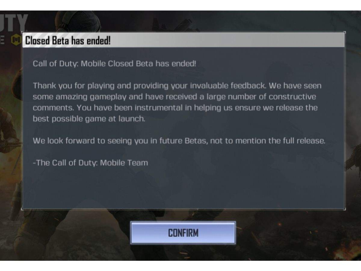 Unable to play Call of Duty mobile: Not able to play Call of Duty
