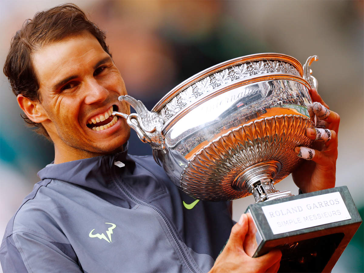 Rafael Nadal Sweeps To 12th French Open And 18th Grand Slam Title Tennis News Times Of India