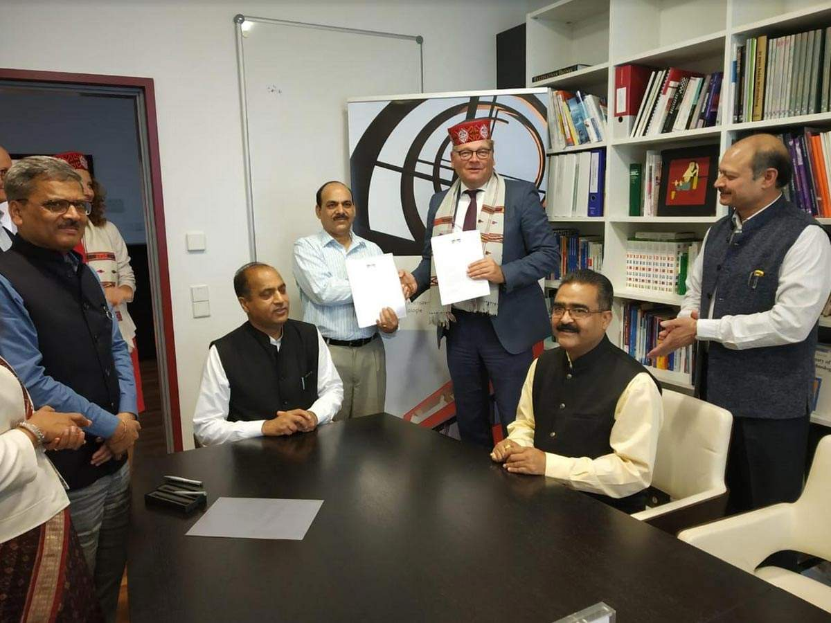HP signs MoU with German company to explore Ayurgenomics