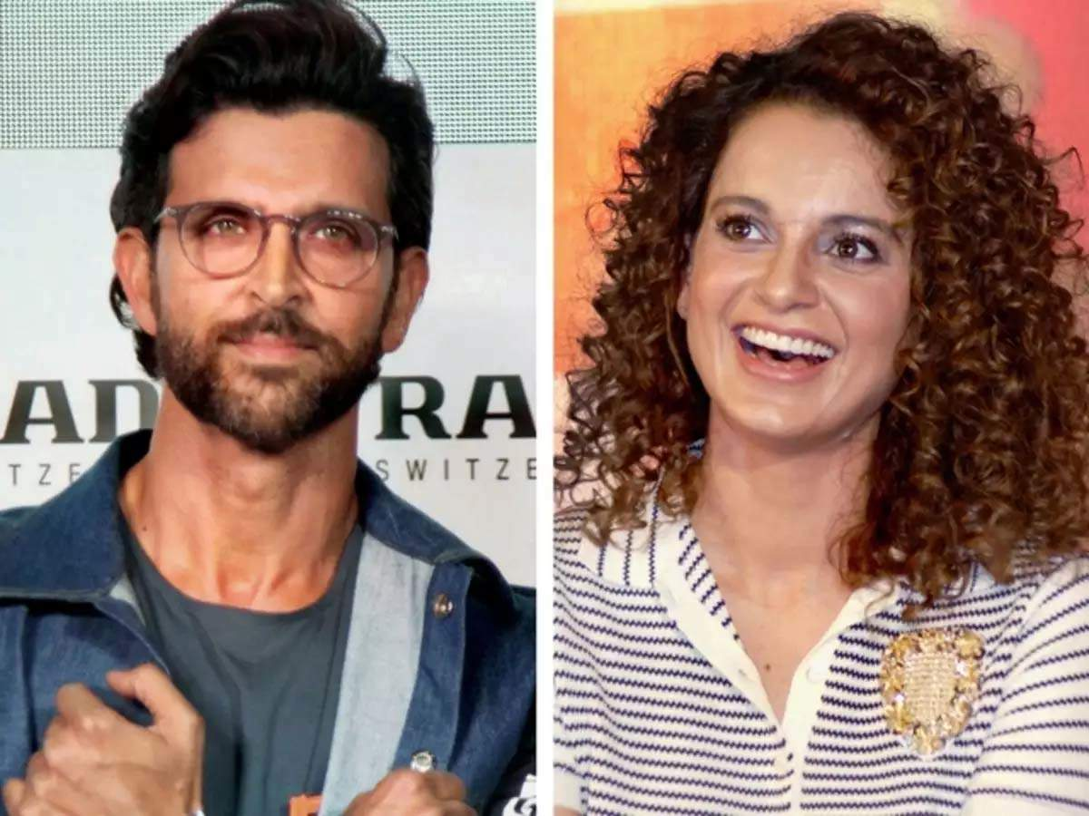 """Kangana Ranaut's sister slam Hrithik Roshan; actor comments """"the more they tried to put him down, the higher he flew"""" on this post - Times of India"""