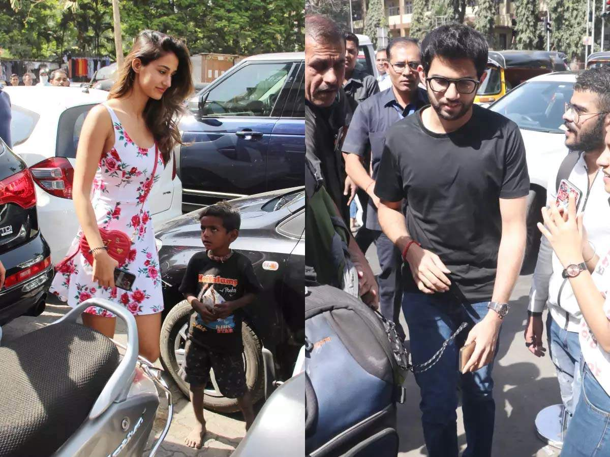 Here's what Disha Patani has to say on getting trolled for her outing with Aditya Thackeray - Times of India