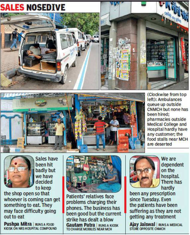 Kolkata With Dip In Patient Flow Business Around Hospitals
