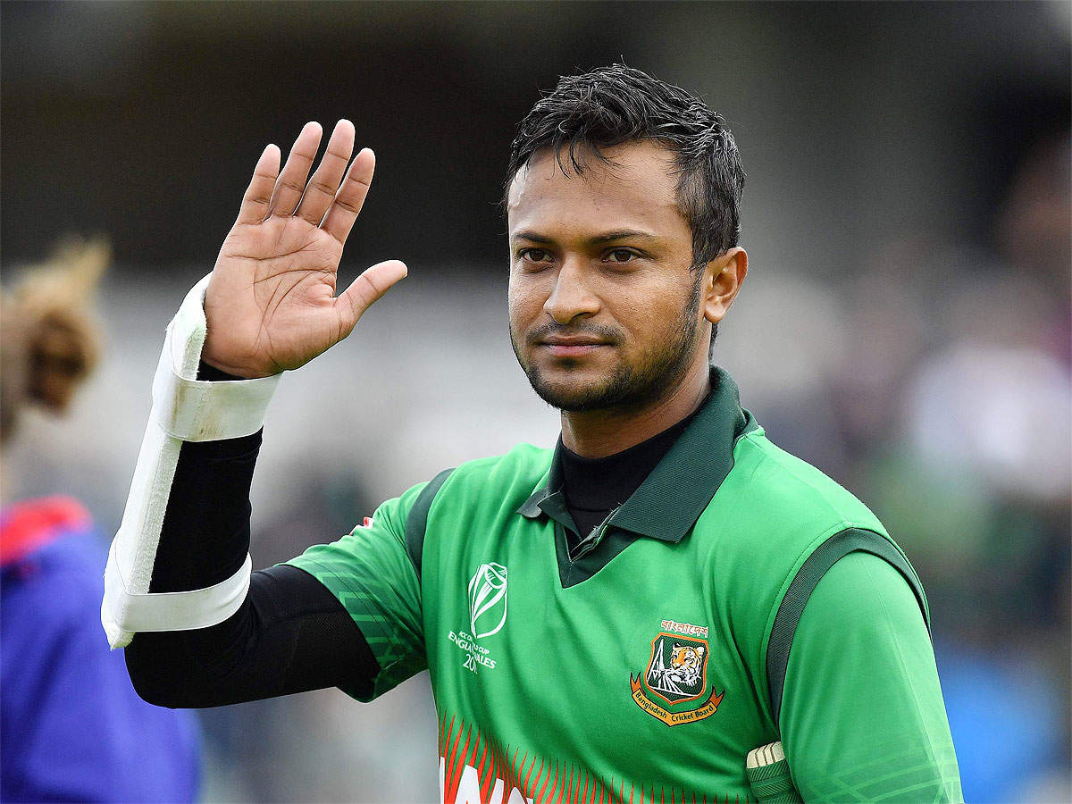 ICC World Cup 2019: Shakib Al Hasan reveling in extra responsibility | Cricket News - Times of India