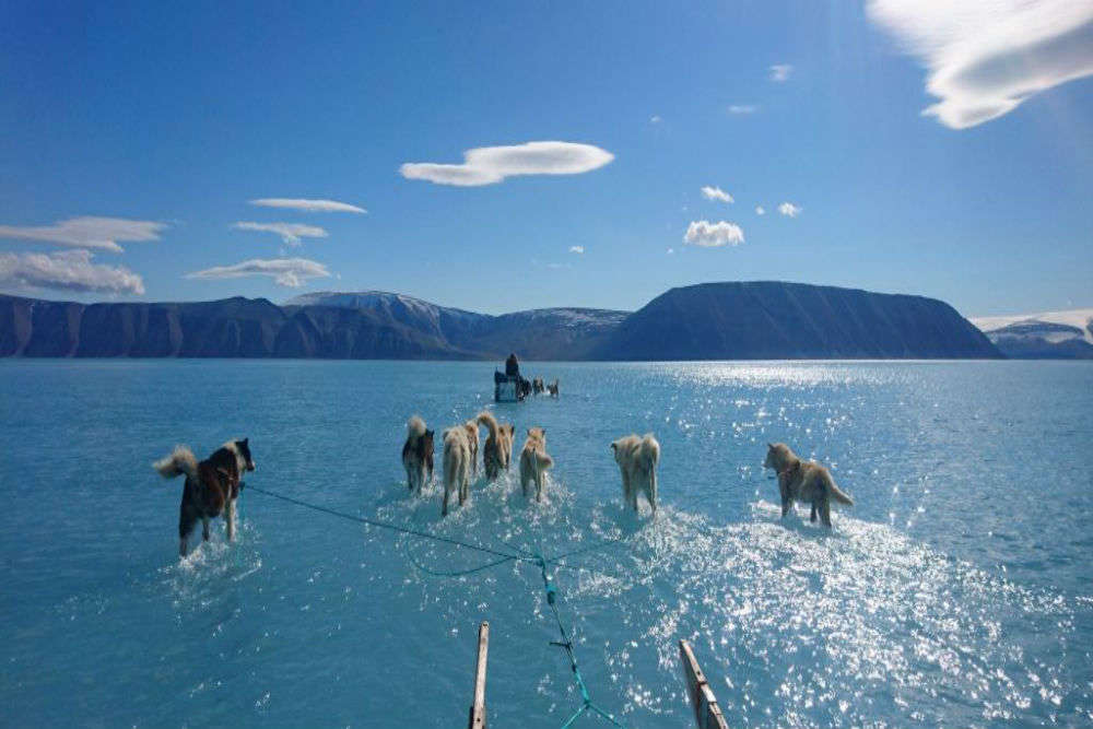 Global 'Warning': 'Unexpected' ice sheet melting recorded in Greenland