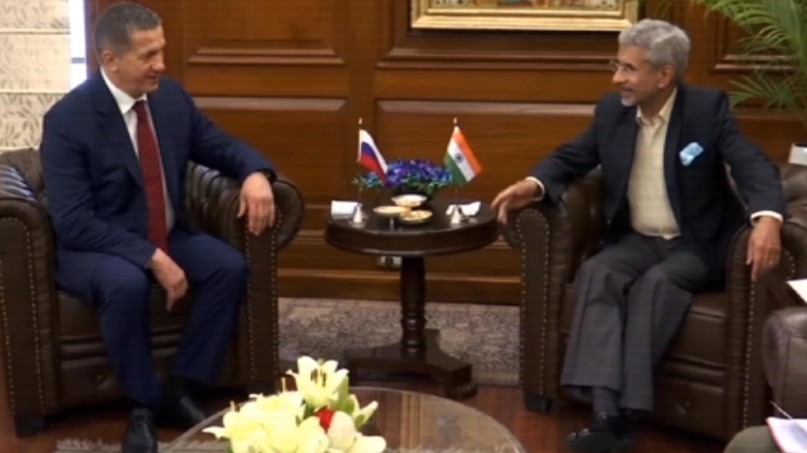 external-affairs-minister-s-jaishankar-meets-russian-deputy-pm-yury-trutnev