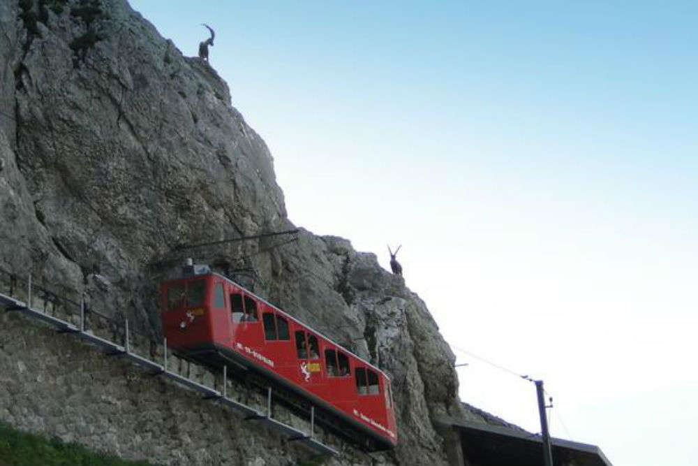 Exploring 'world's steepest cogwheel railway', an engineering marvel