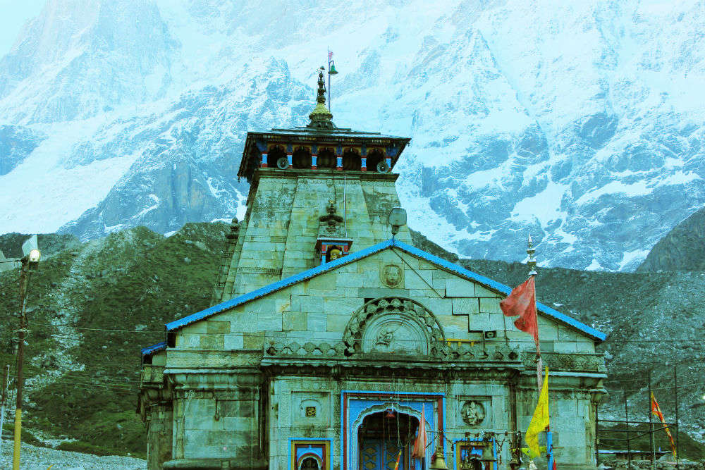 Kedarnath temple records the highest footfall of pilgrims in first 45 days