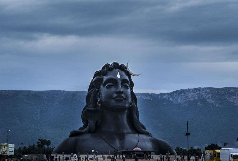 Adiyogi Shiva statue, the world's largest bust carving, will leave you gasping in awe