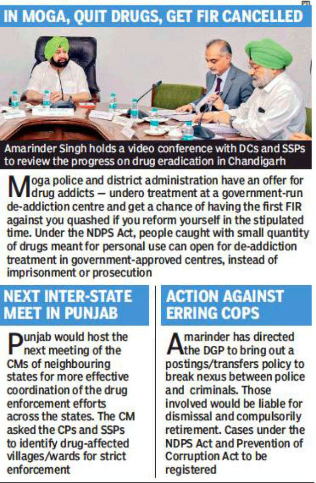 Need preventive detention of repeat drug smugglers' | Chandigarh