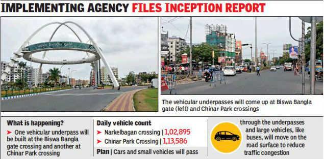 Kolkata: Hidco plans vehicular underpasses at Narkelbagan