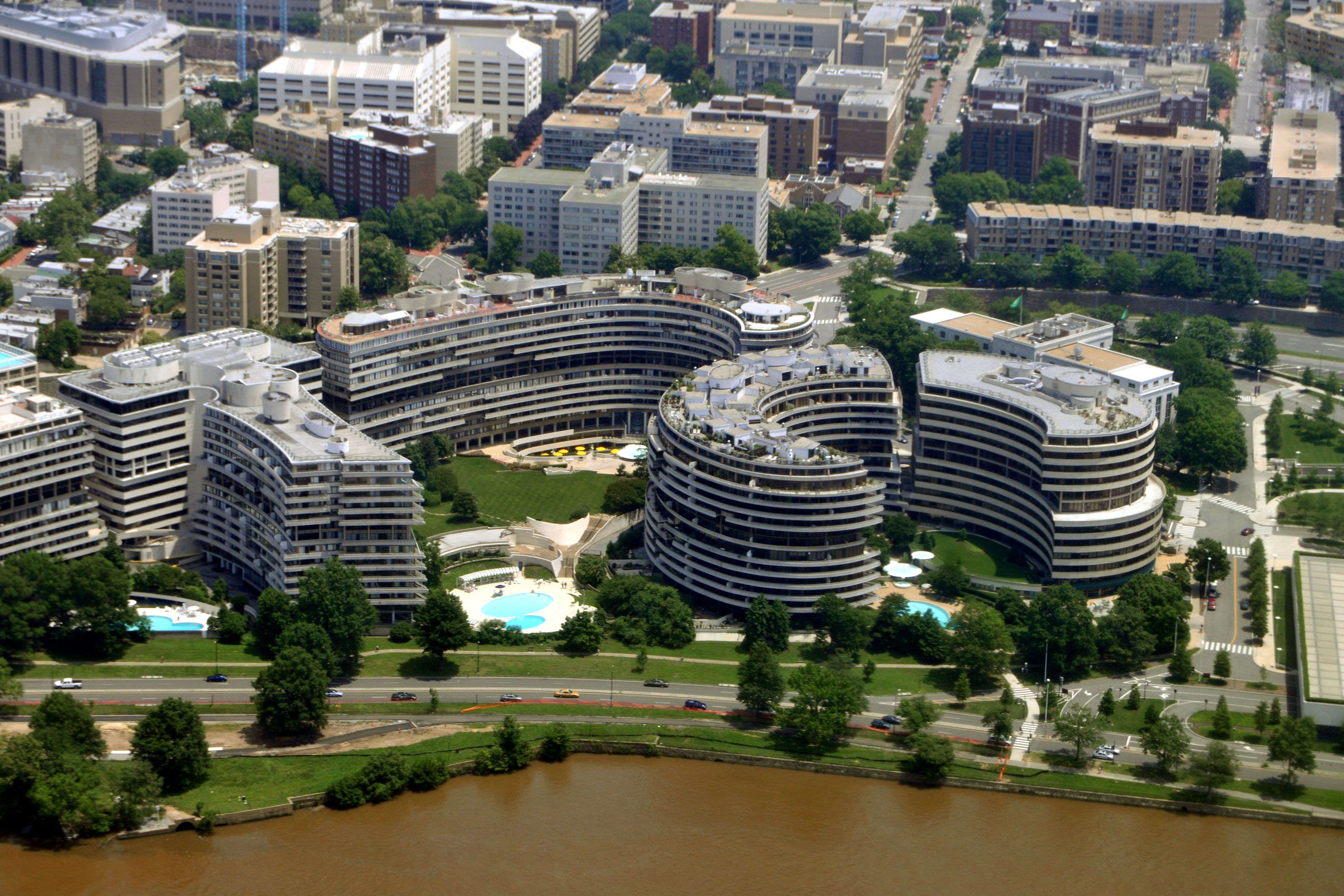 Break into the whiskey safe of the Watergate Hotel and celebrate a historic scandal