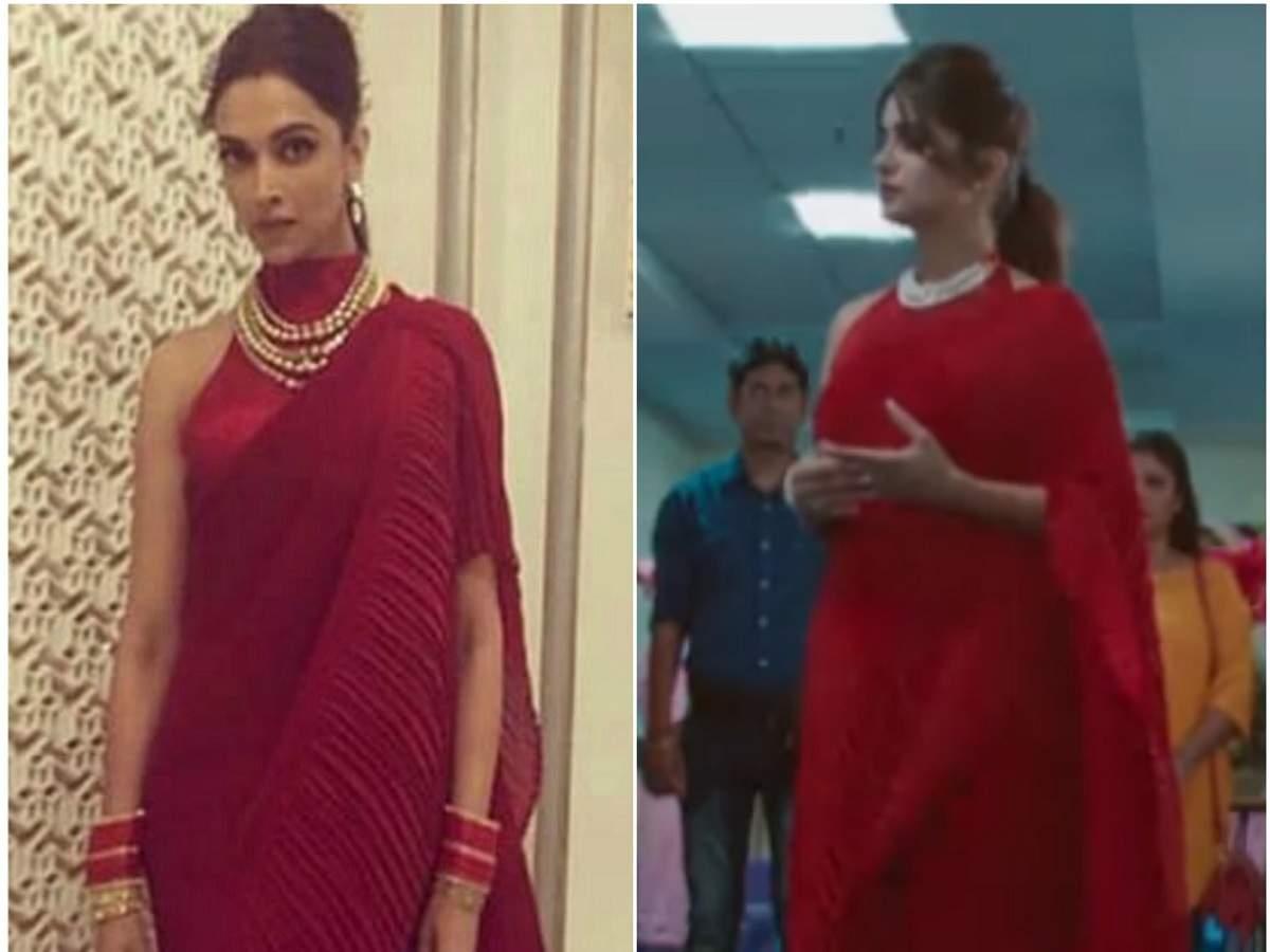 Dipika Kakar Ibrahim wears a copy of Deepika Padukone's ...