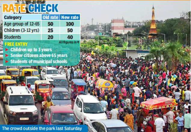 Delhi: Wonder park trip to cost you more on Sundays | Delhi