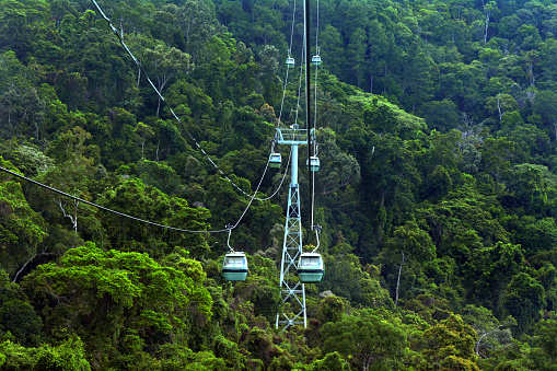 Kashmir: Cable cars ready for commercial operation in Patnitop