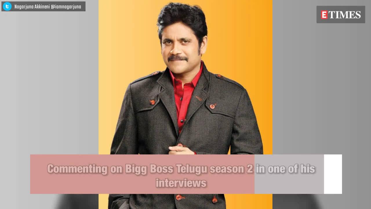 Bigg Boss Telugu 3: Host Nagarjuna Akkineni's 'Bigg Boss is voyeuristic'  comment goes viral