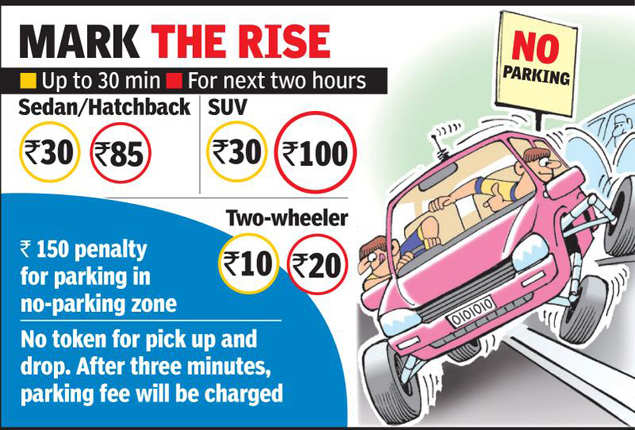 Lucknow airport revises parking fees to end queue chaos | Lucknow News -  Times of India
