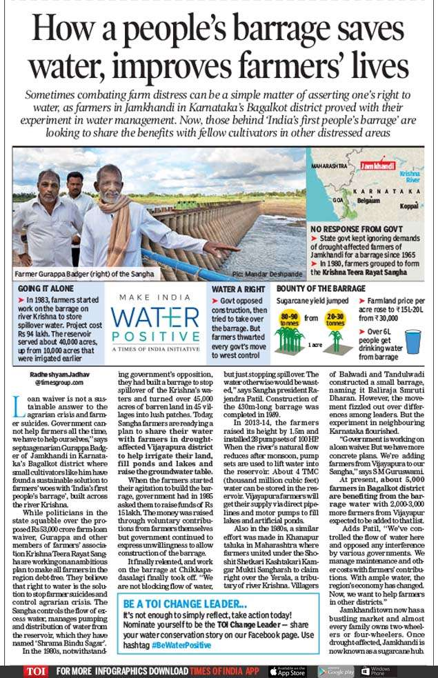 Make India Water Positive': A cause for the Times | India