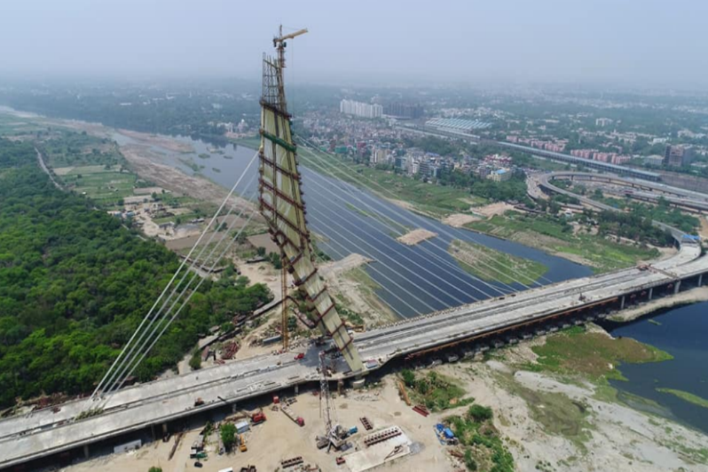 Soon people in Delhi will be able to climb the famous Signature Bridge
