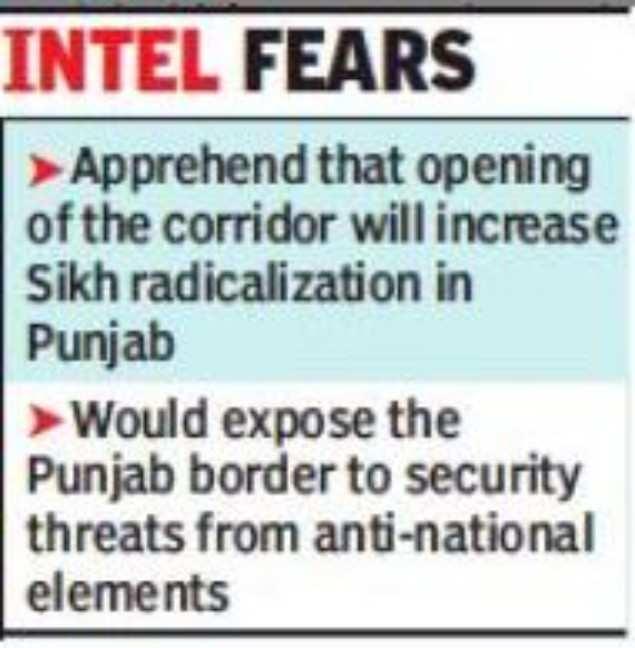 Pak using Kartarpur corridor to back Khalistani agenda' | India News