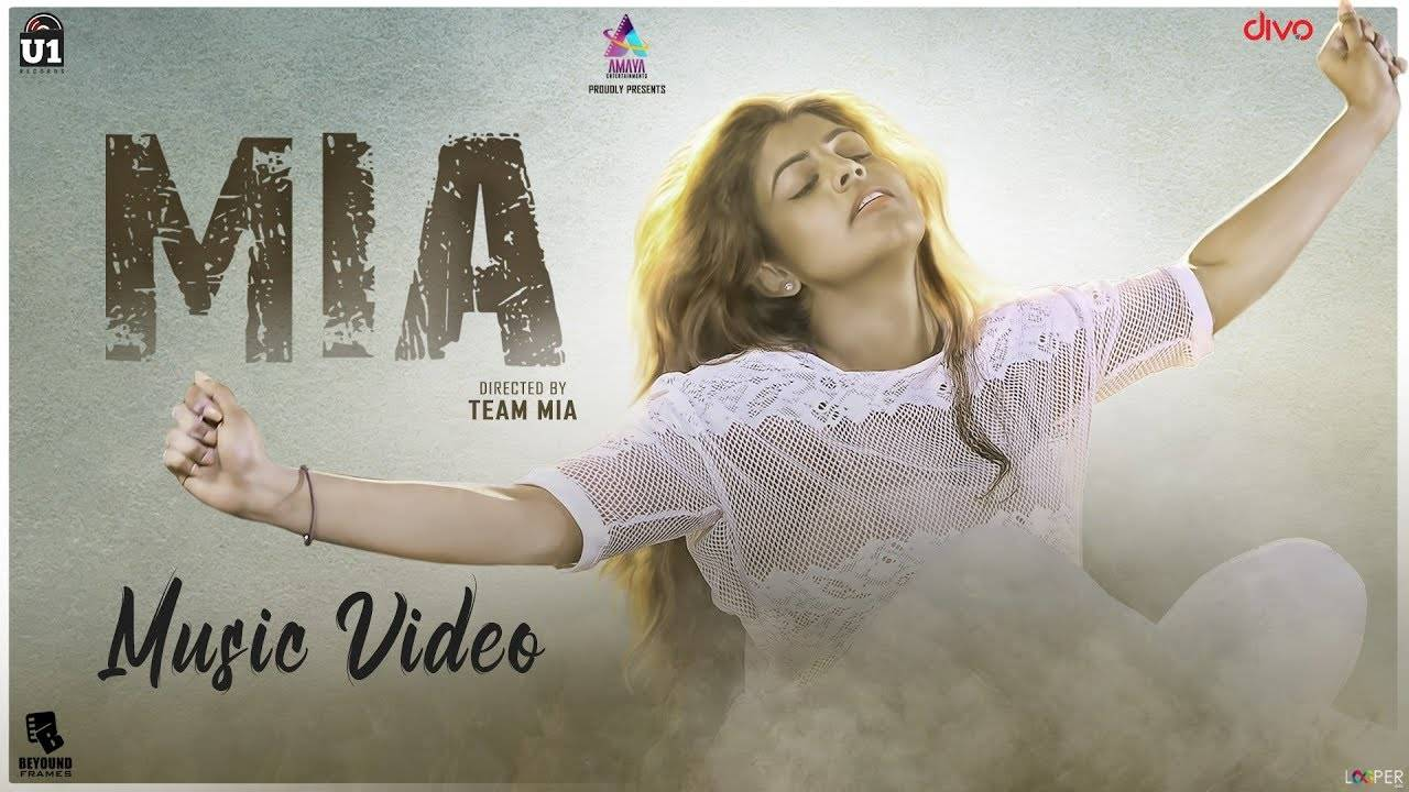 Latest Tamil Song 'Mia' Sung By Sayanora Philip