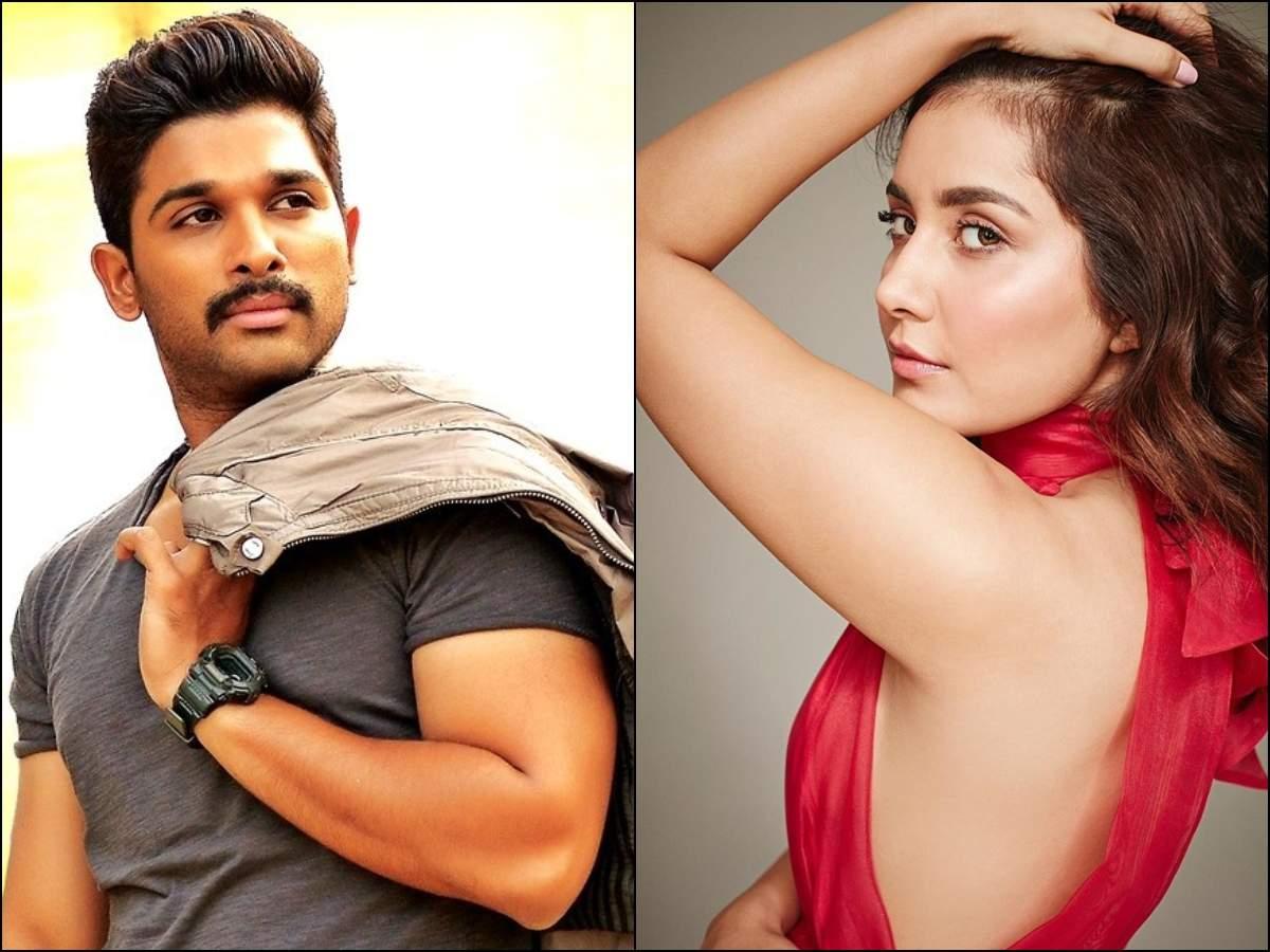 Raashi Khanna likely to romance Stylish Star Allu Arjun in Venu Sriram's ICON | Telugu Movie News - Times of India
