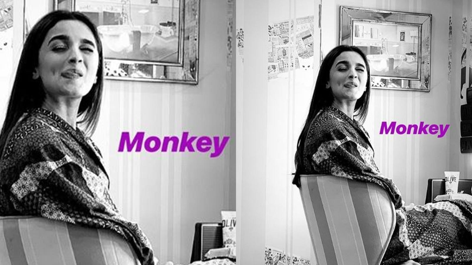 Shaheen Bhatt posts an adorable picture of her 'monkey' Alia Bhatt