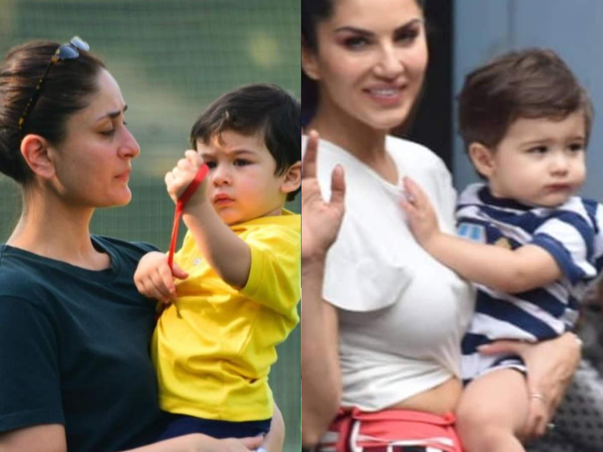Internet spots Taimur Ali Khan's lookalike! He is Sunny Leone's son