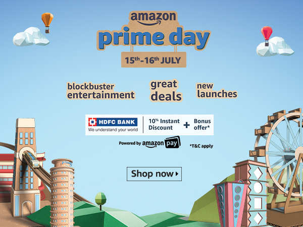 Exclusive prime day deals, just for you