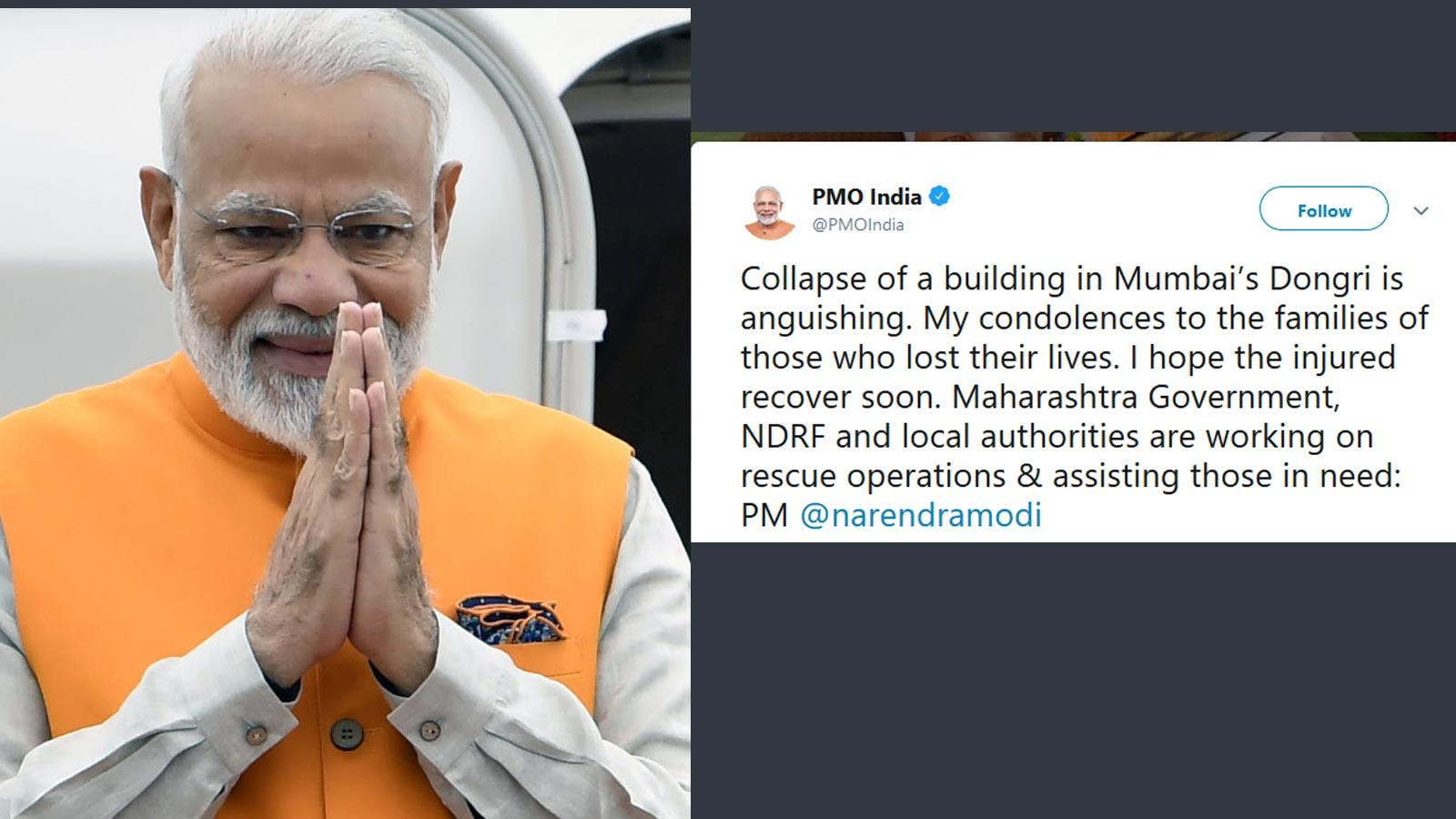 narendra-modi-expresses-condolences-for-mumbai-building-collapse-victims