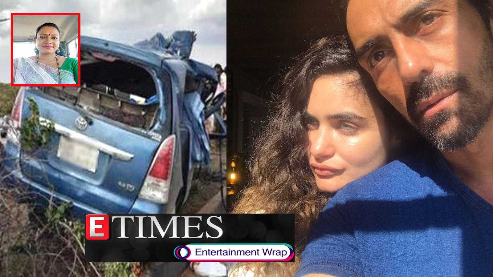 Actress dies in road accident