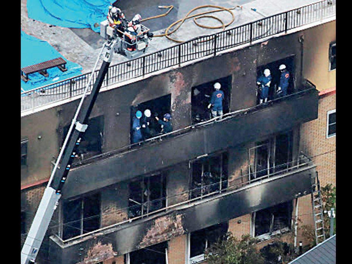 33 killed in arson attack on Japan animation studio