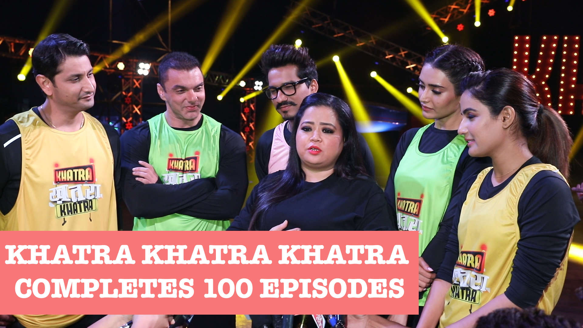 Khatra Khatra Khatra completes 100 episodes, Bharti Singh, Harsh  Limbachiyaa and others celebrate