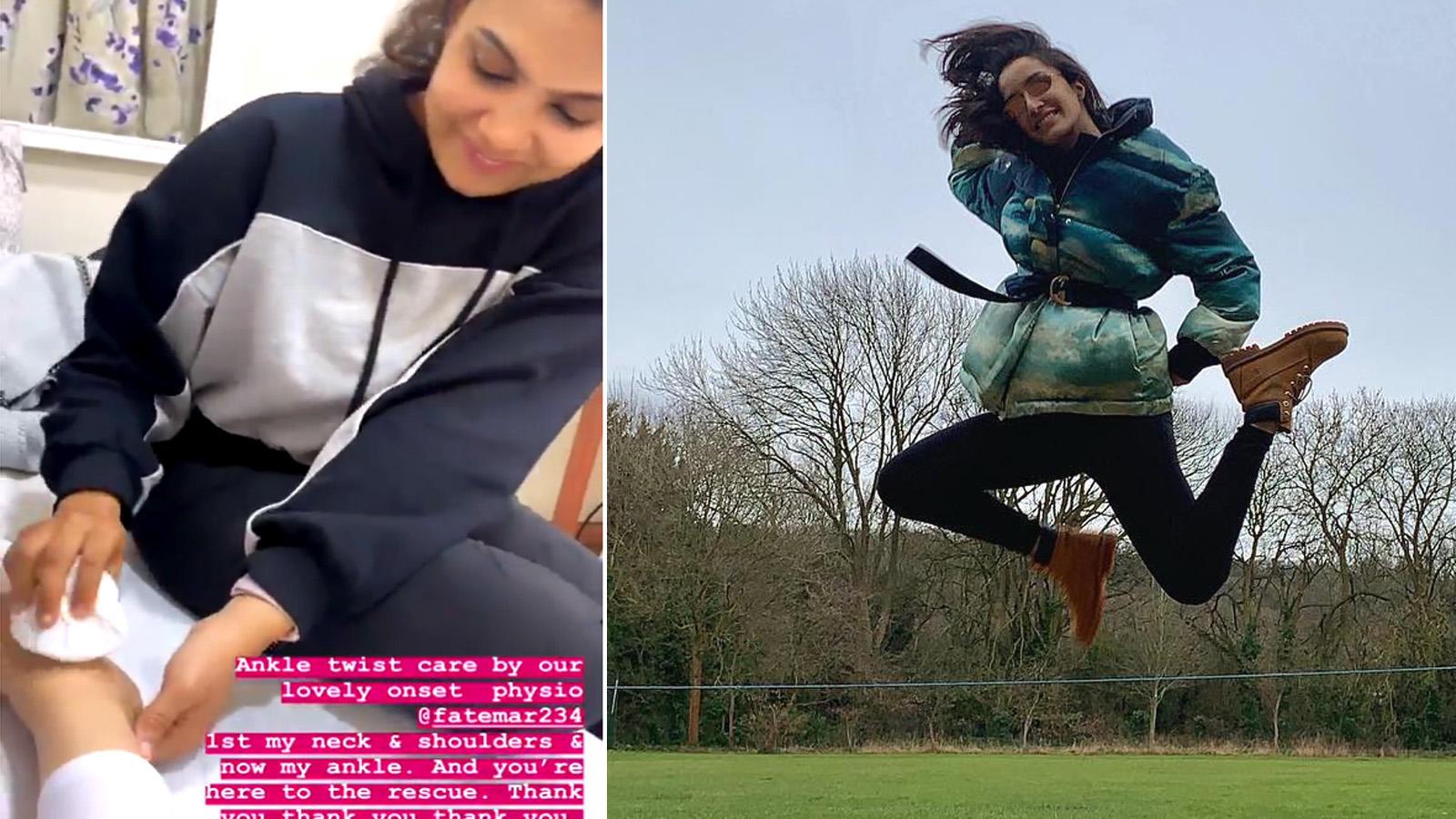 Shraddha Kapoor gets injured on the sets of 'Street dancer 3D'