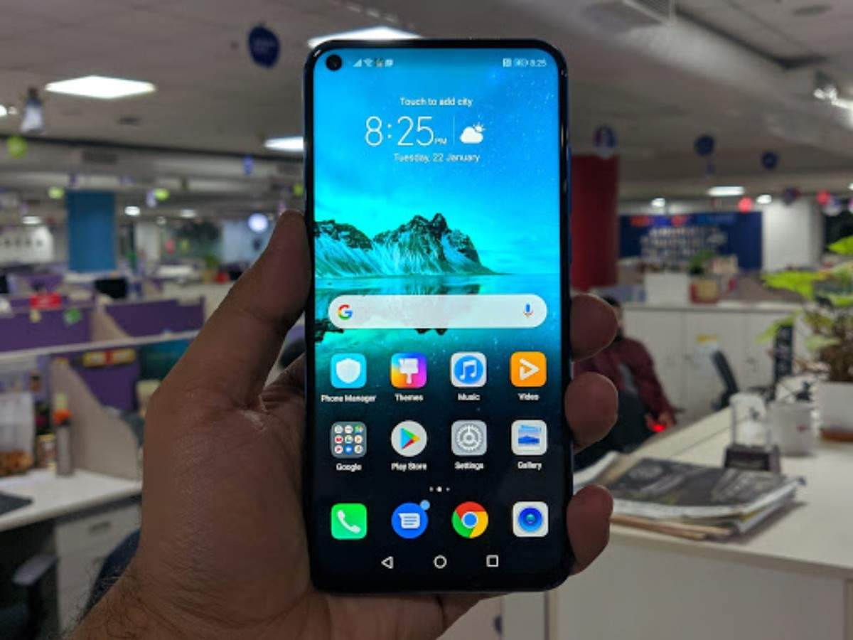 Honor View 20 Available At Flat Rs 17 000 Discount In Friend Ship Days Sale Times Of India