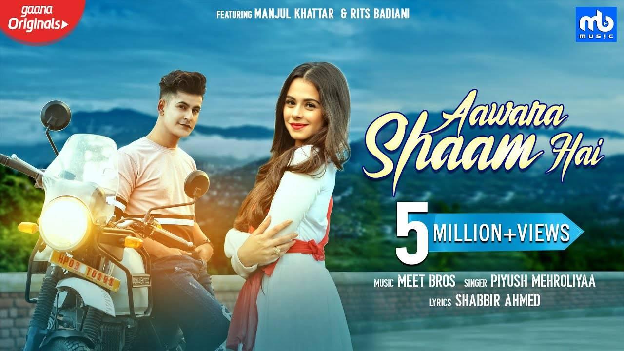 Latest Hindi Song Aawara Shaam Hai Sung By Meet Bros Hindi Video Songs Times Of India