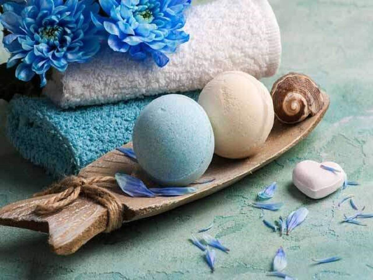 Bath Bombs: For a colorful bathing experience-Festive Gifting