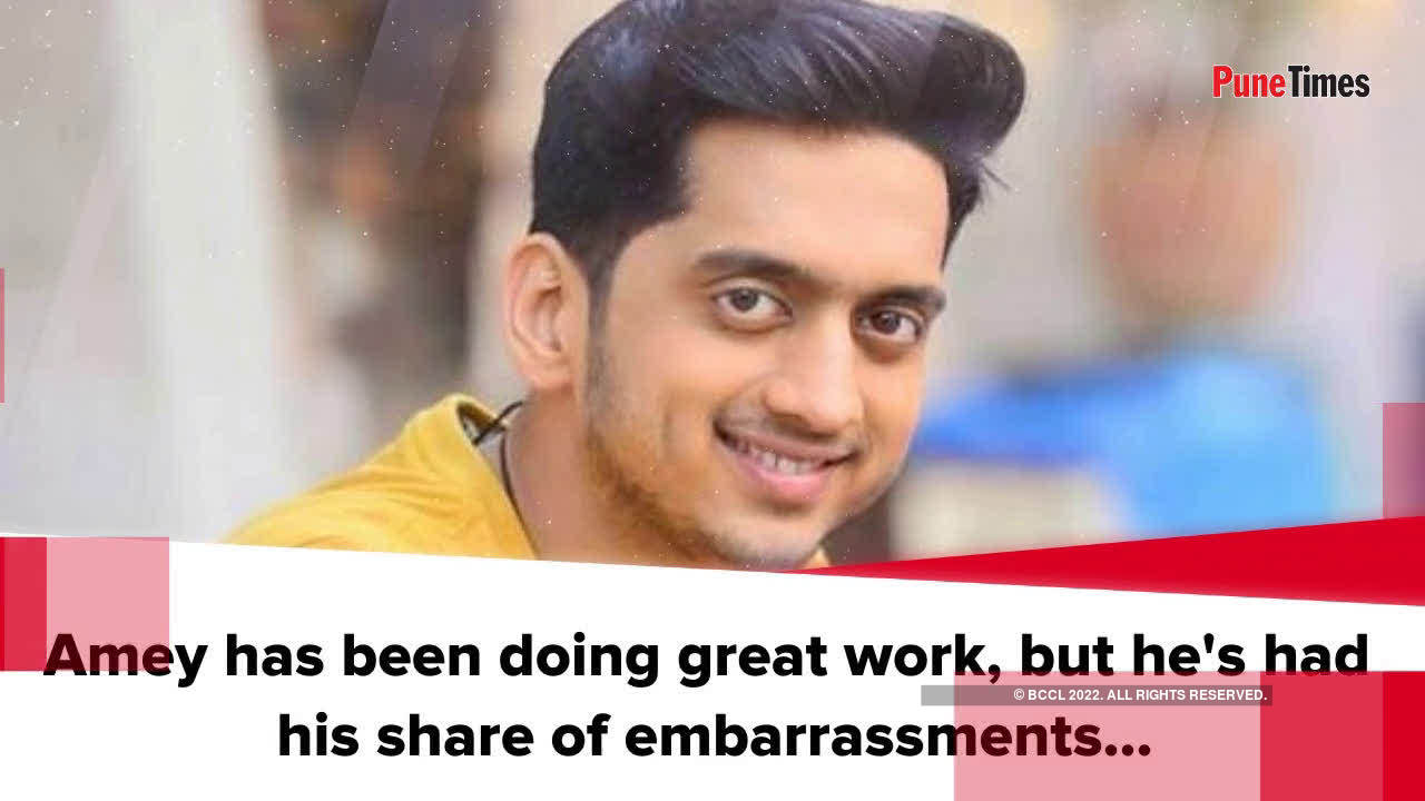 The most embarrassing thing Amey Wagh has done