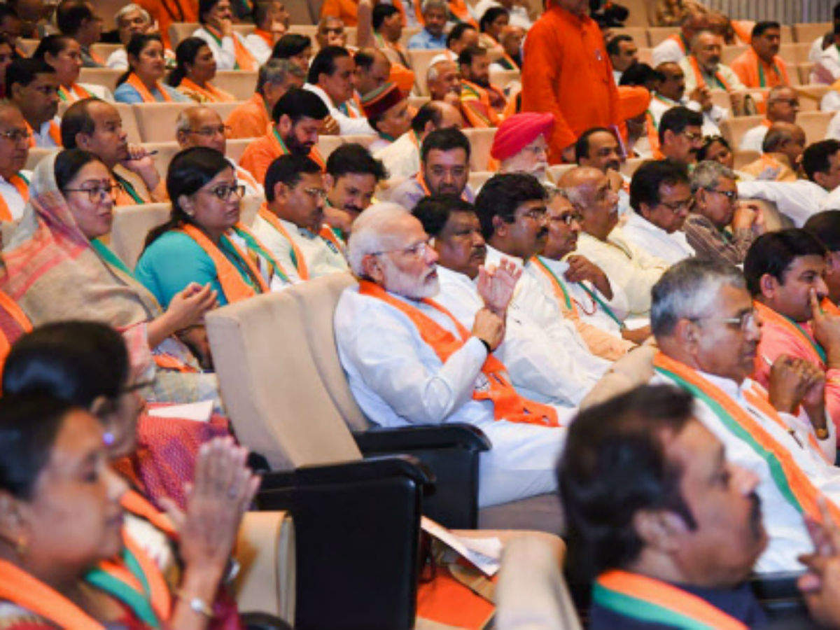 PM Modi to BJP MPs: Don't forget workers after winning polls | India