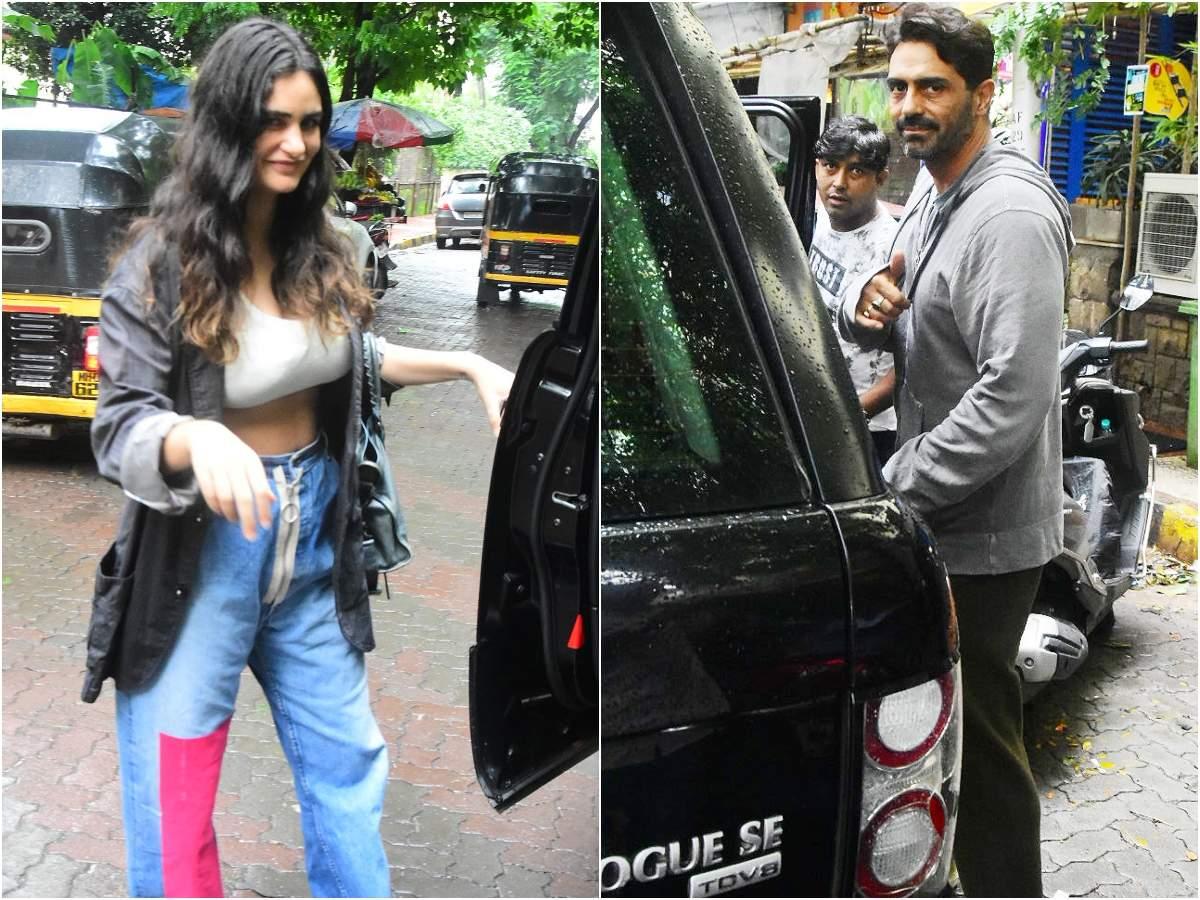 Photos: Arjun Rampal and Gabriella Demetriades snapped post a lunch